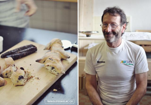 Boulanger en Valais: l'artisan Stéphane Marguet