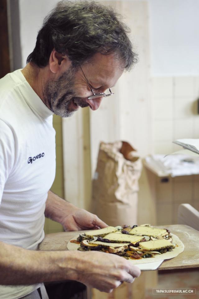 Stéphane Marguet, boulanger, travaille avec des farines oubliées