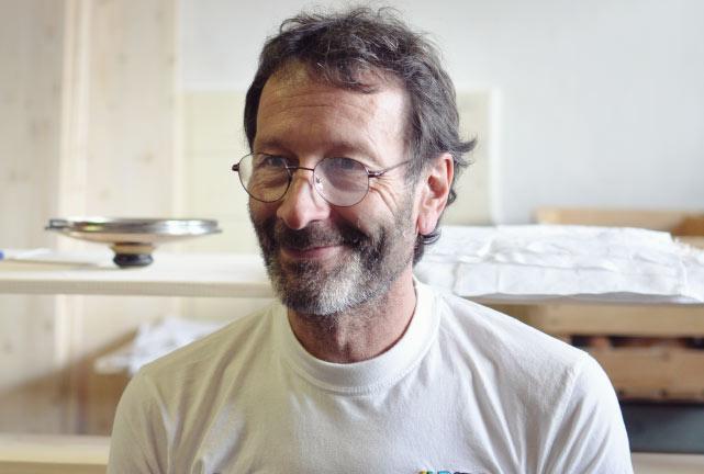 Portrait Stéphane Marguet Artisan boulanger atyique en Valais