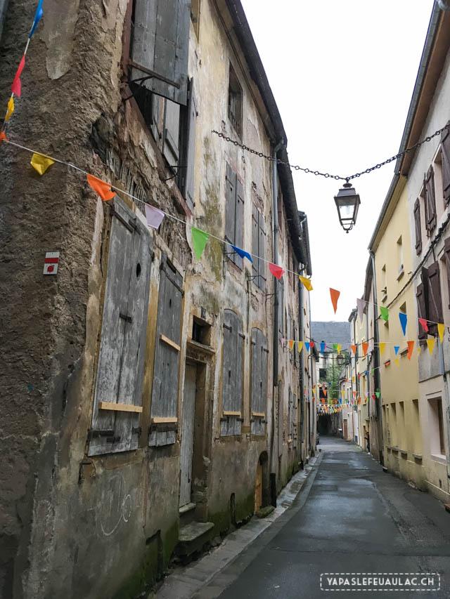 Les ruelles de Sierck-les-Bains