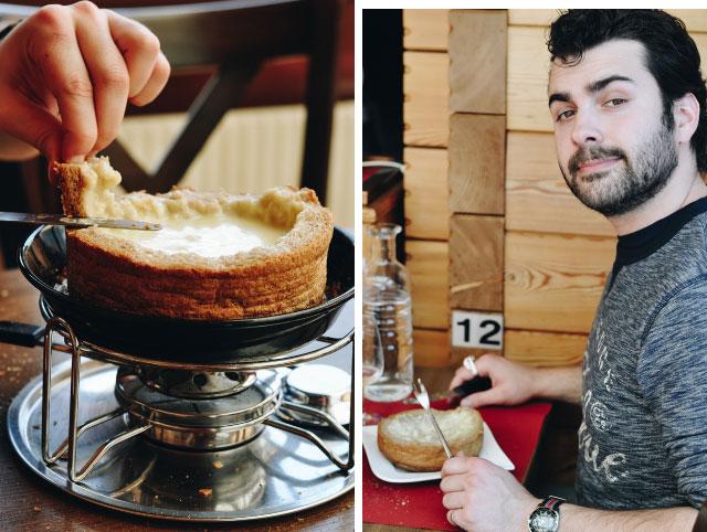 Adresse en Suisse sur le blog Yapaslefeuaulac: La Grange, un restaurant à fondue dans les montagnes suisses