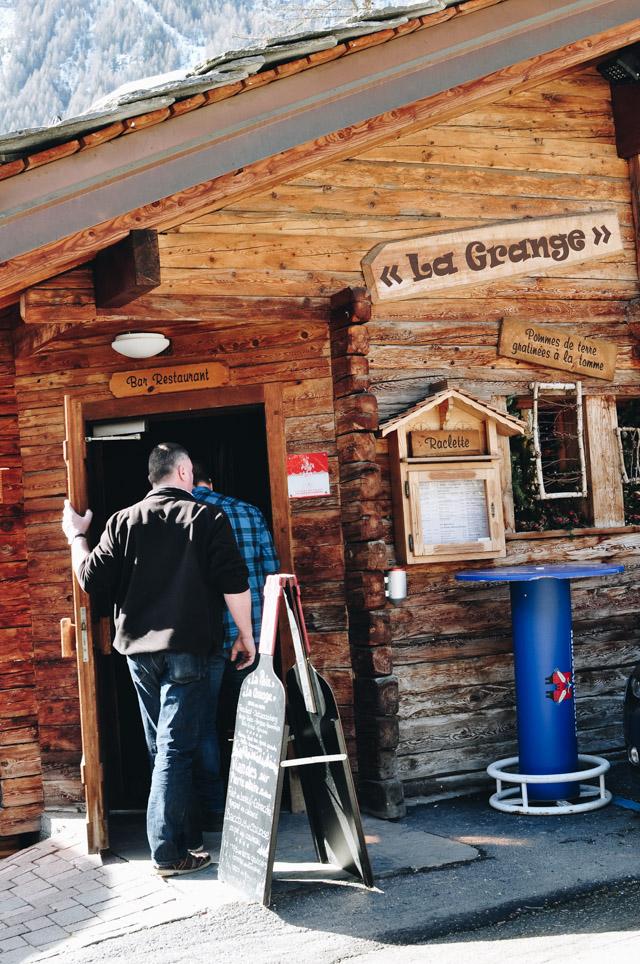 Le restaurant la Grange à Evolène - Bonnes adresses en Suisse