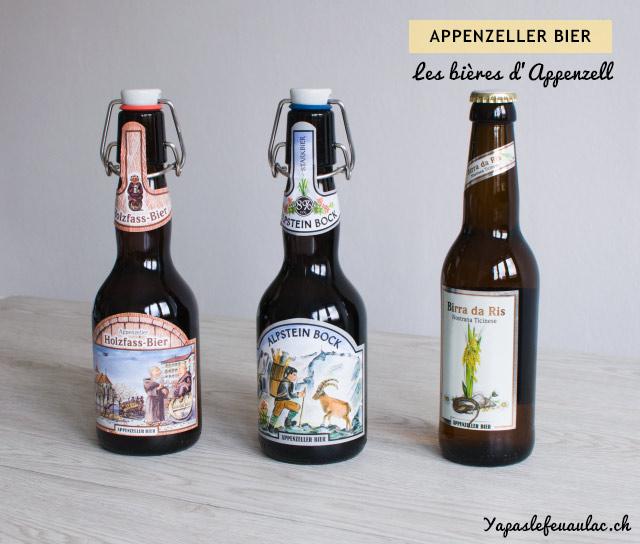 Les bières d'Appenzell - Spécialités à goûter en Appenzell