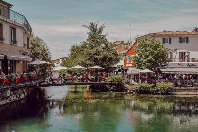 Ile sur Sorgue: un si bel endroit! Voyage en France: week-enden Provence sur le blog