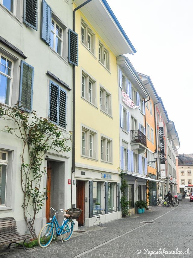 Winterthour, ville suisse-allemande au joli centre
