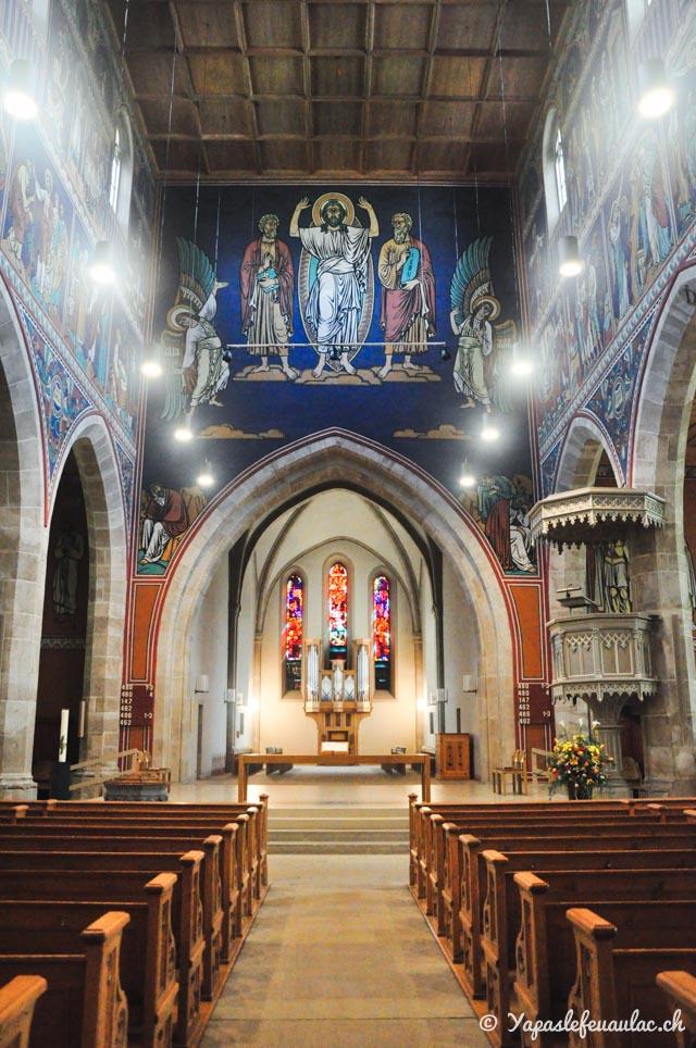 Eglise à Winterthour en Suisse