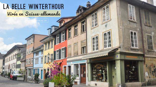 Winterthour - Tourisme en Suisse: ville de Suisse-allemande