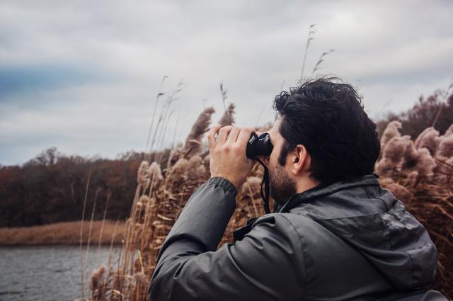 Balade nature en Lorraine à l'étang de Lachaussée (département de la Meuse)