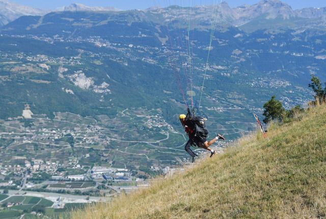 Mon vol en parapente en Valais! - Blog Yapaslefeuaulac.ch