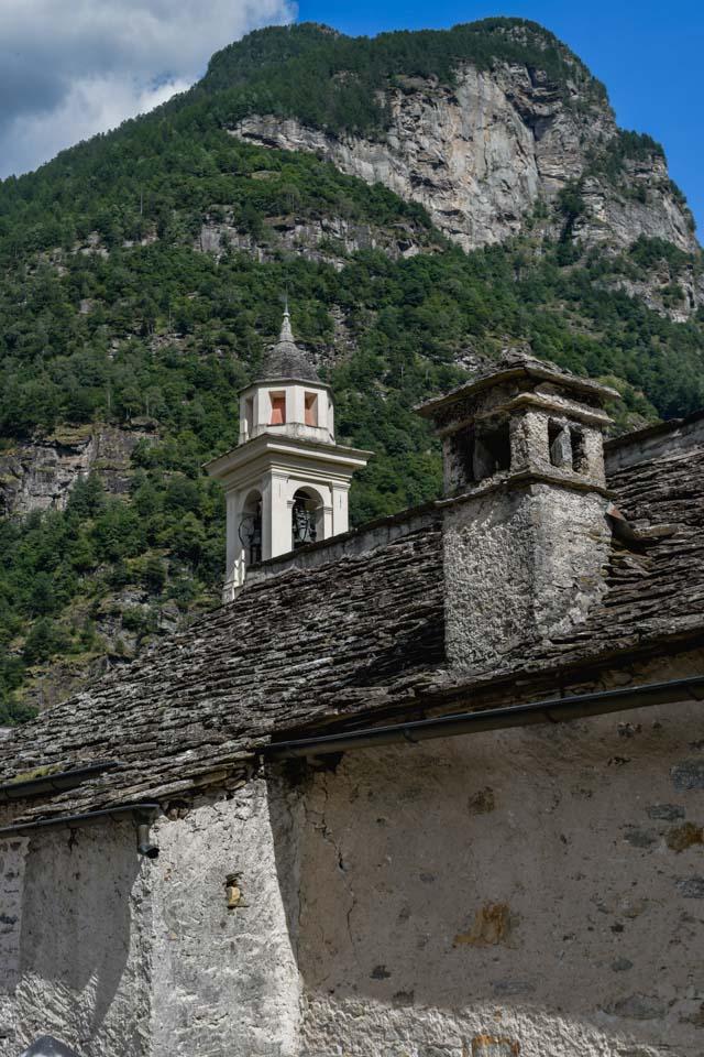 Sonogno, village au Tessin (Suisse)