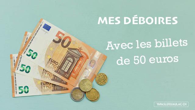 Les billets de 50 euros en france