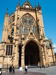 Cathédrale Saint Etienne à Metz