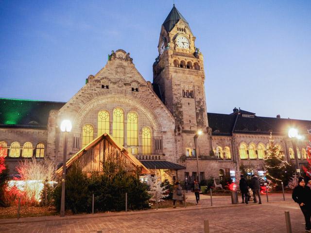 La magnifique gare de Metz