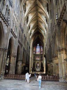 Intérieur de la Cathédrale Saint Etienne à Metz