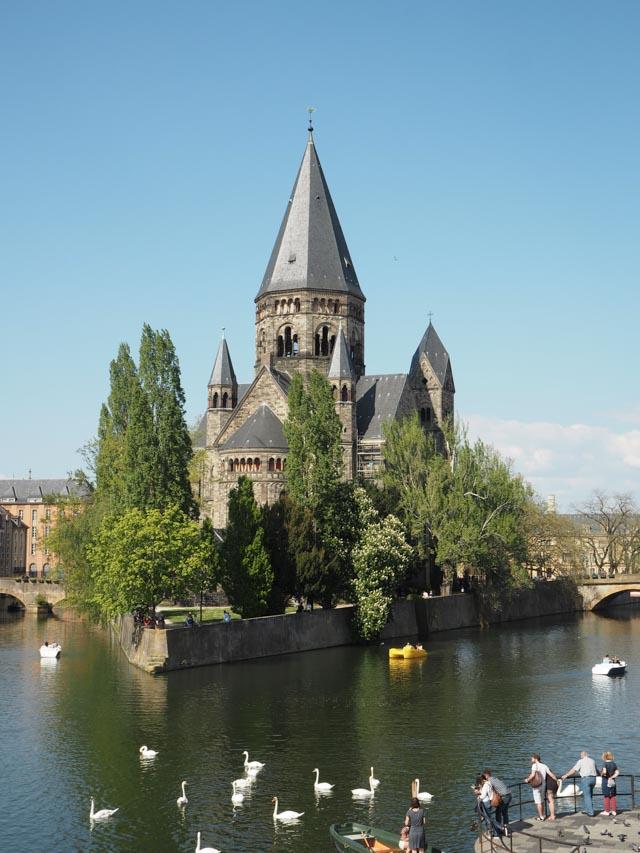 Que voir à Metz: le Temple Neuf
