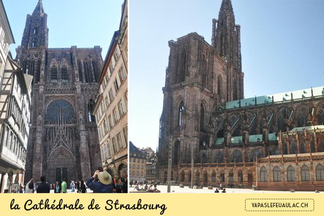 Que voir à Strasbourg? L'immense cathédrale est un incontournable