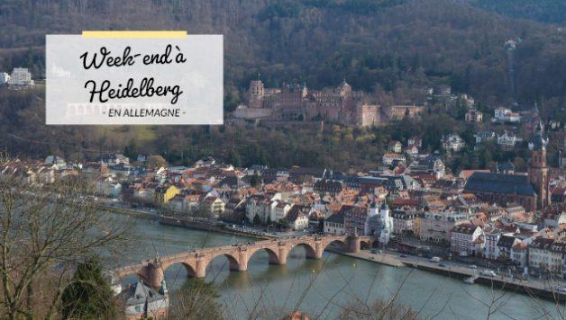 Que voir à Heidelberg: des idées sur le blog!