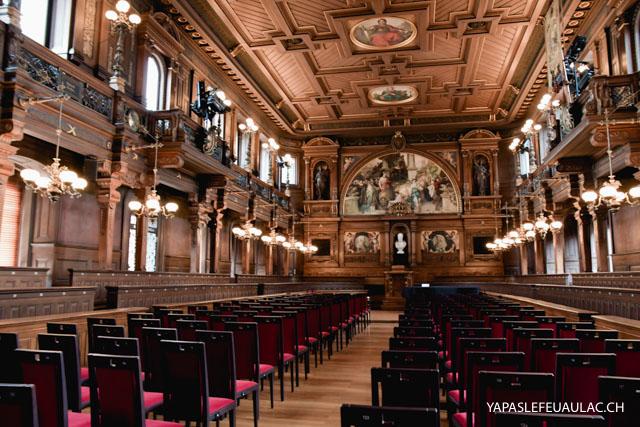 L'aula de l'université d'Heidelberg