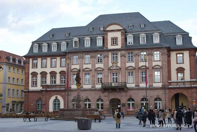 Visiter Heidelberg (Bade Wurtemberg), une ville allemande pas très loin de la Suisse et de l'Alsace