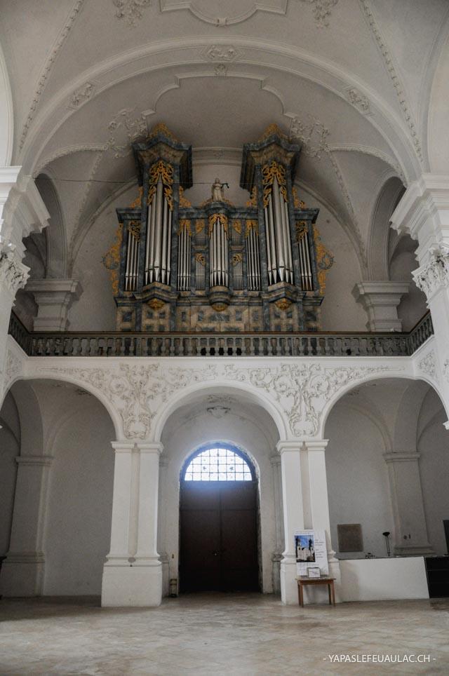 L'abbaye de Bellelay: à l'intérieur du monument