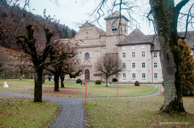 L'abbaye de Bellelay, point d'origine de la tête de moine
