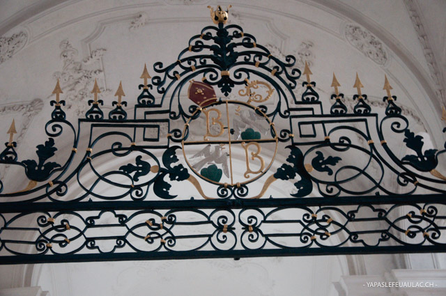 Détail abbaye patrimoine Bellelay jura bernois