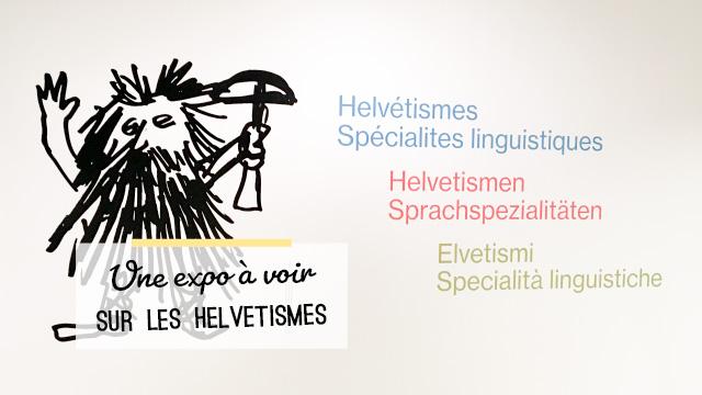 Expo sur les helvétismes au Centre Dürrenmatt à Neuchâtel