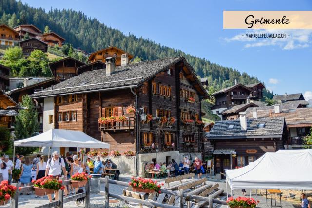 Voyage en Suisse: Visiter Grimentz au Val d'Anniviers