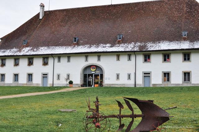 La maison de la tête de moine: visite en Suisse sur le blog Yapaslefeuaulac.ch