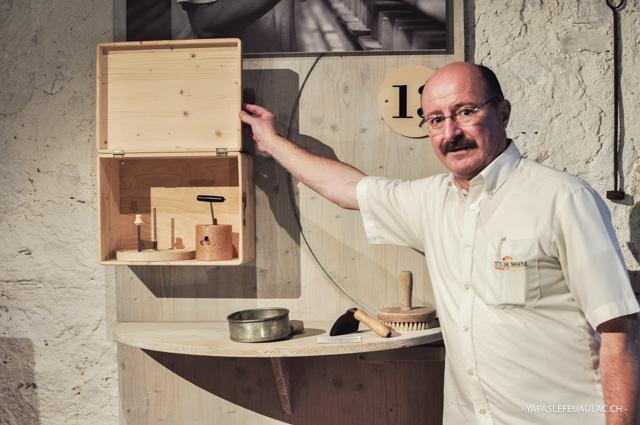 L'histoire de la tête de moine, ce fromage jurassien, est contée dans un petit musée à Bellelay