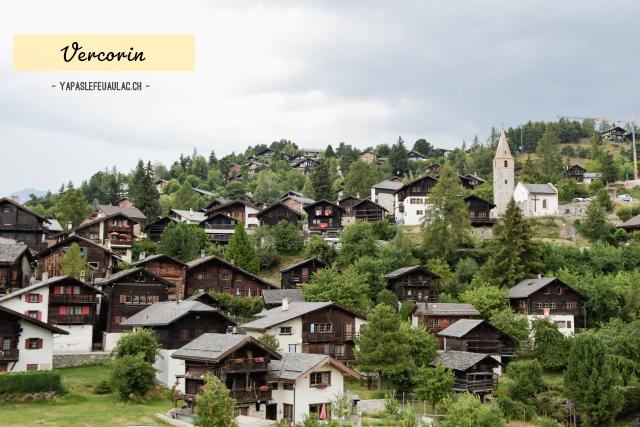Voyager en Suisse: point de départ pour les montagnes, Vercorin
