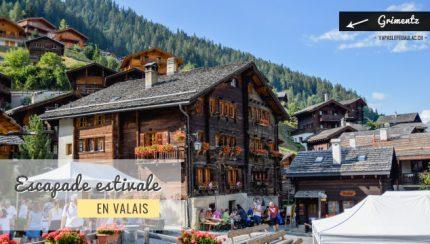 Des géraniums rouges et des chalets - voyage dans les montagnes suisses