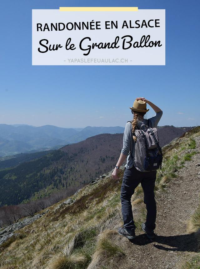 Rando facile sur le Grand Ballon des Vosges en Alsace