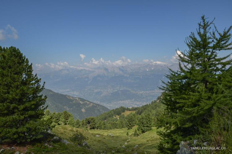 Une belle idée de rando en Valais autour de Vercorin au Val d'Anniviers