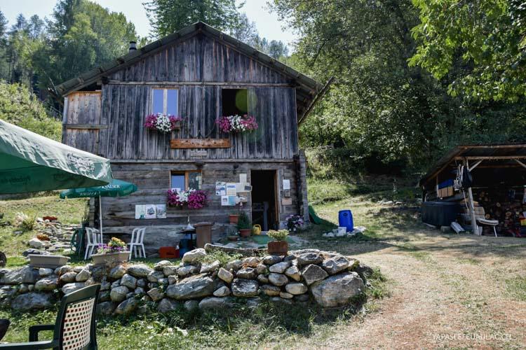 Buvette chez Antoinette près de Vercorin