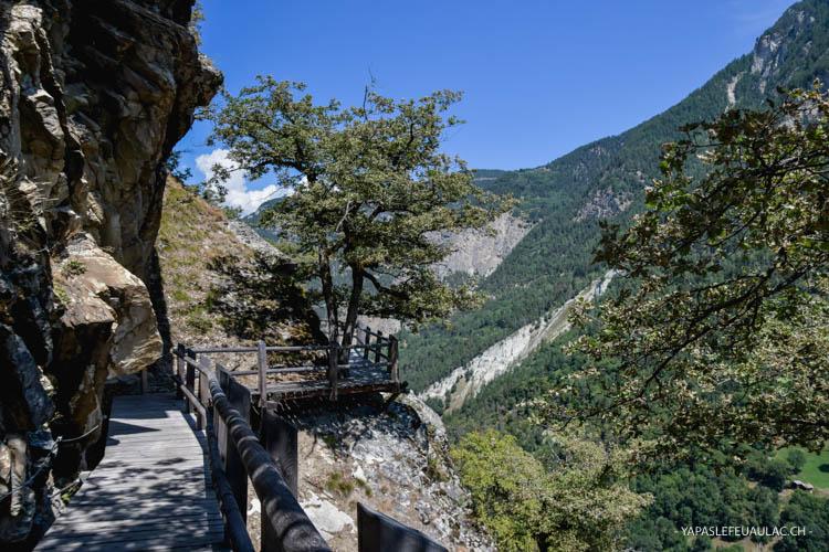 Rando autour de Vercorin (Valais - Suisse)
