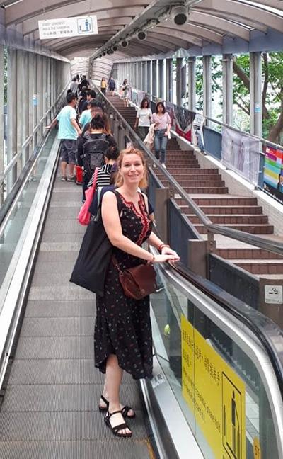 Karine, expatriée suisse à Hong Kong, en interview sur le blog Yapaslefeuaulac.ch