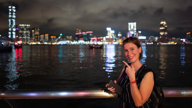 Karine, expatriée suisse à Hong Kong