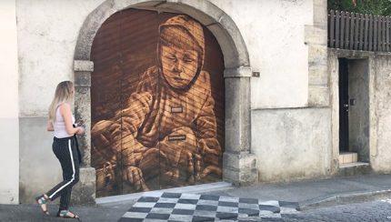 Street art à Estavayer le Lac (escapade dans le canton de Fribourg)