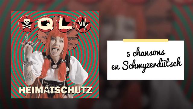Ecouter des chansons en suisse-allemand!