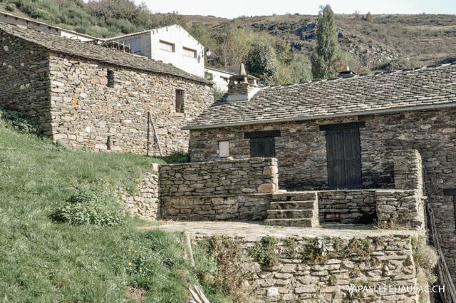 Maisons cévenoles en pierre