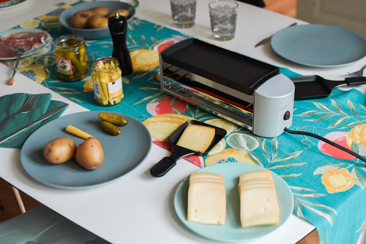 Raclette suisse à la maison