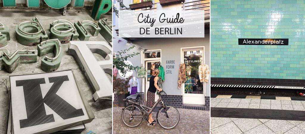 Des idées pour visiter Berlin