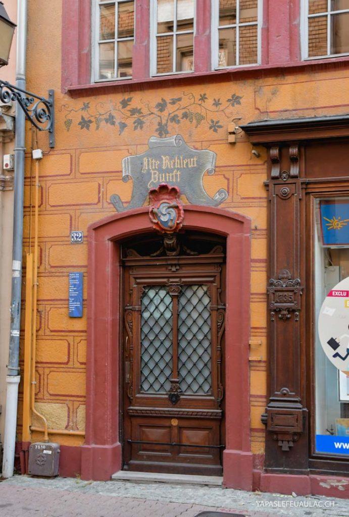 Maison de la corporation des vignerons à Mulhouse