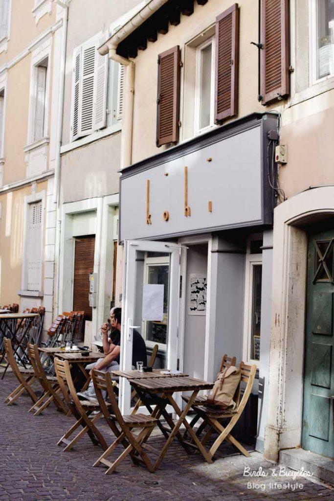 Rue des Franciscains à Mulhouse bonnes adresses