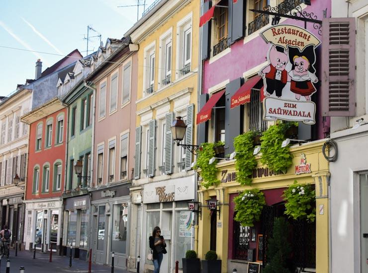 Quartier des Franciscains Mulhouse (Rue des Tanneurs)