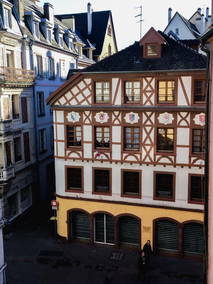 Le café Guillaume Tell - découvrir Mulhouse