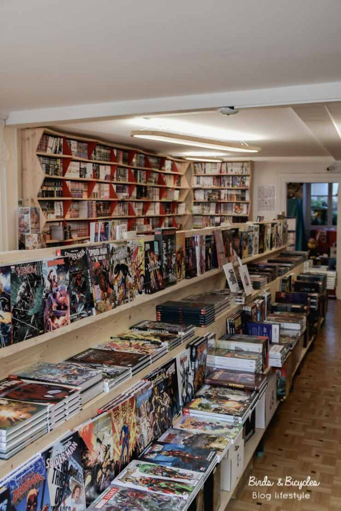 Librairie de BD Mulhouse