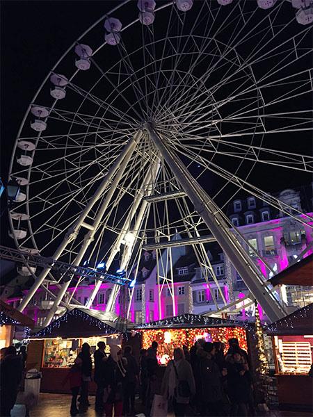 Grand roue de Mulhouse - Marché de Noël