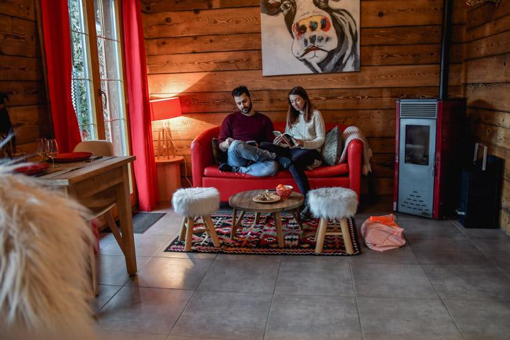 Notre chalet dans les Vosges - Blog voyage Yapaslefeuaulac